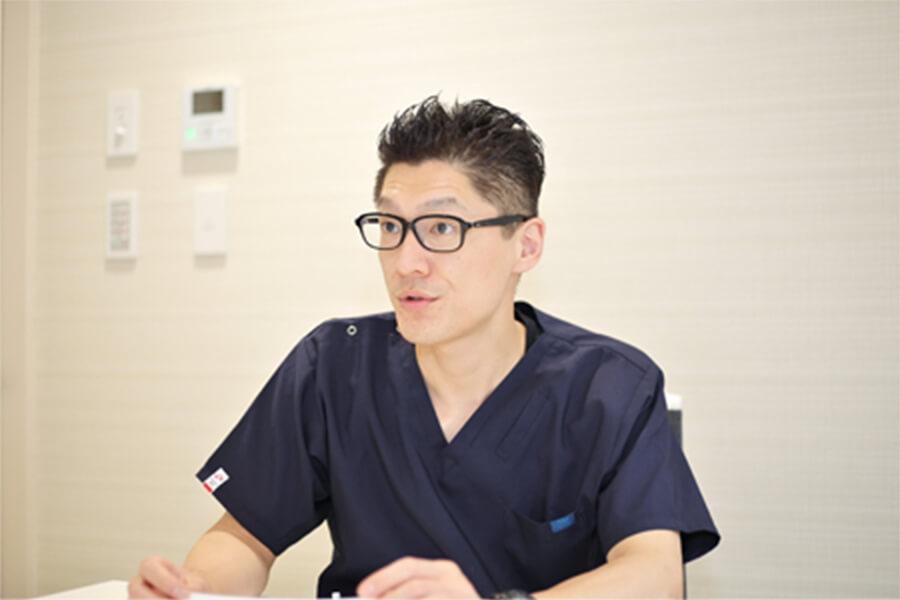 Q.仕事のやりがいを教えてください。 中嶋歯科医院 歯科医師 2019年入職 浦井 一樹