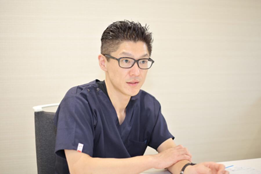 Q.「ここは成長できた」という部分はどこですか。 中嶋歯科医院 歯科医師 2019年入職 浦井 一樹