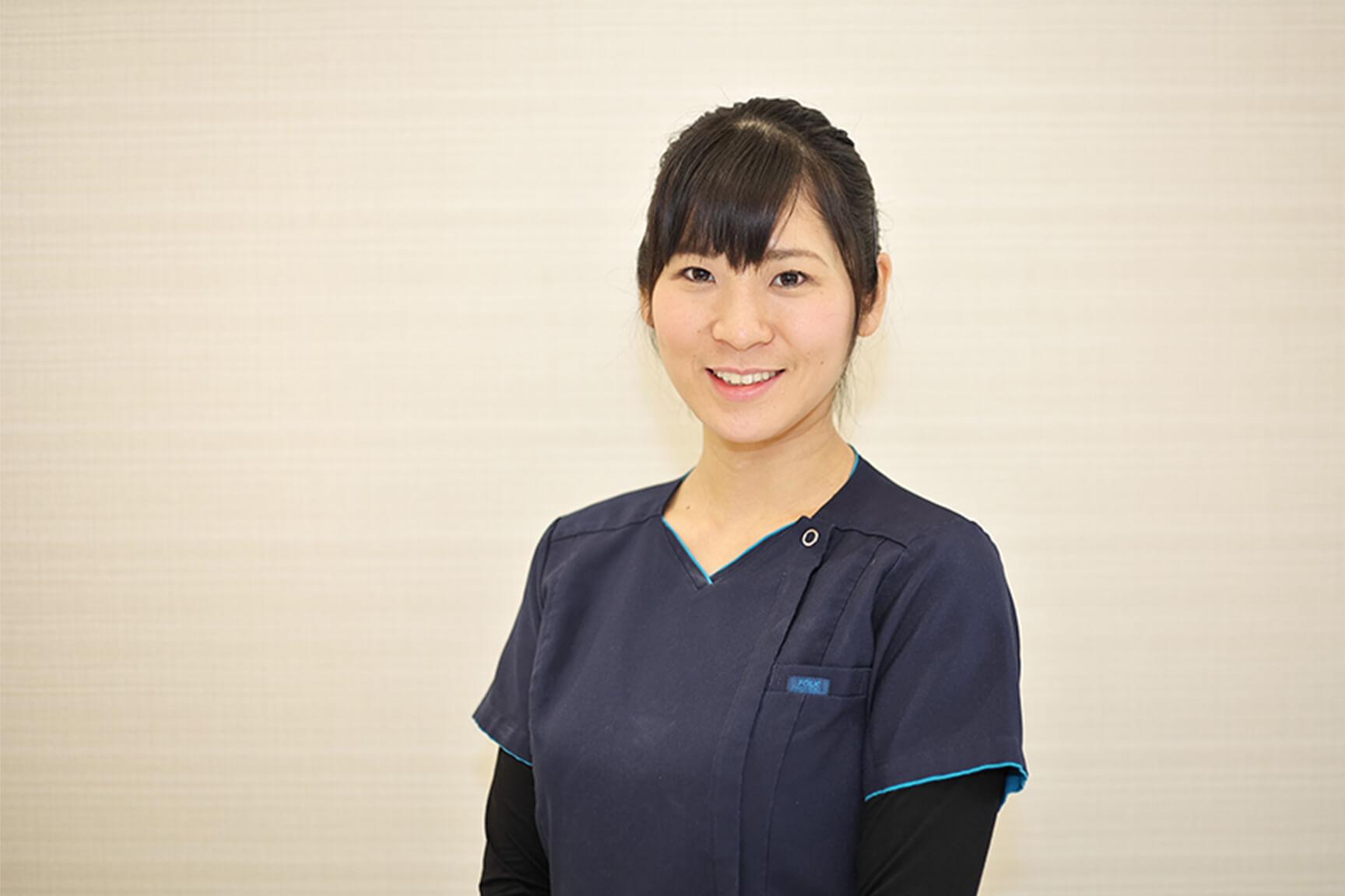 2度の産休・育休取得。みんな快く送り出してくれた。 中嶋歯科医院 歯科医師 2016年入職 田中 洋子