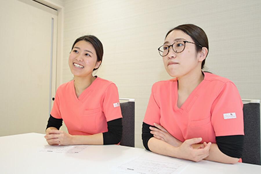 Q.中嶋歯科医院で働く魅力は何ですか。 中嶋歯科医院 歯科衛生士座談会