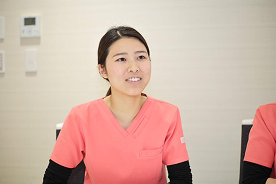 Q.一緒に働く方へのメッセージをお願いします。 中嶋歯科医院 歯科衛生士座談会